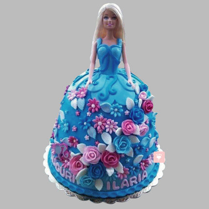 Buy Heavenly Barbie Cake Online At Best Price Od