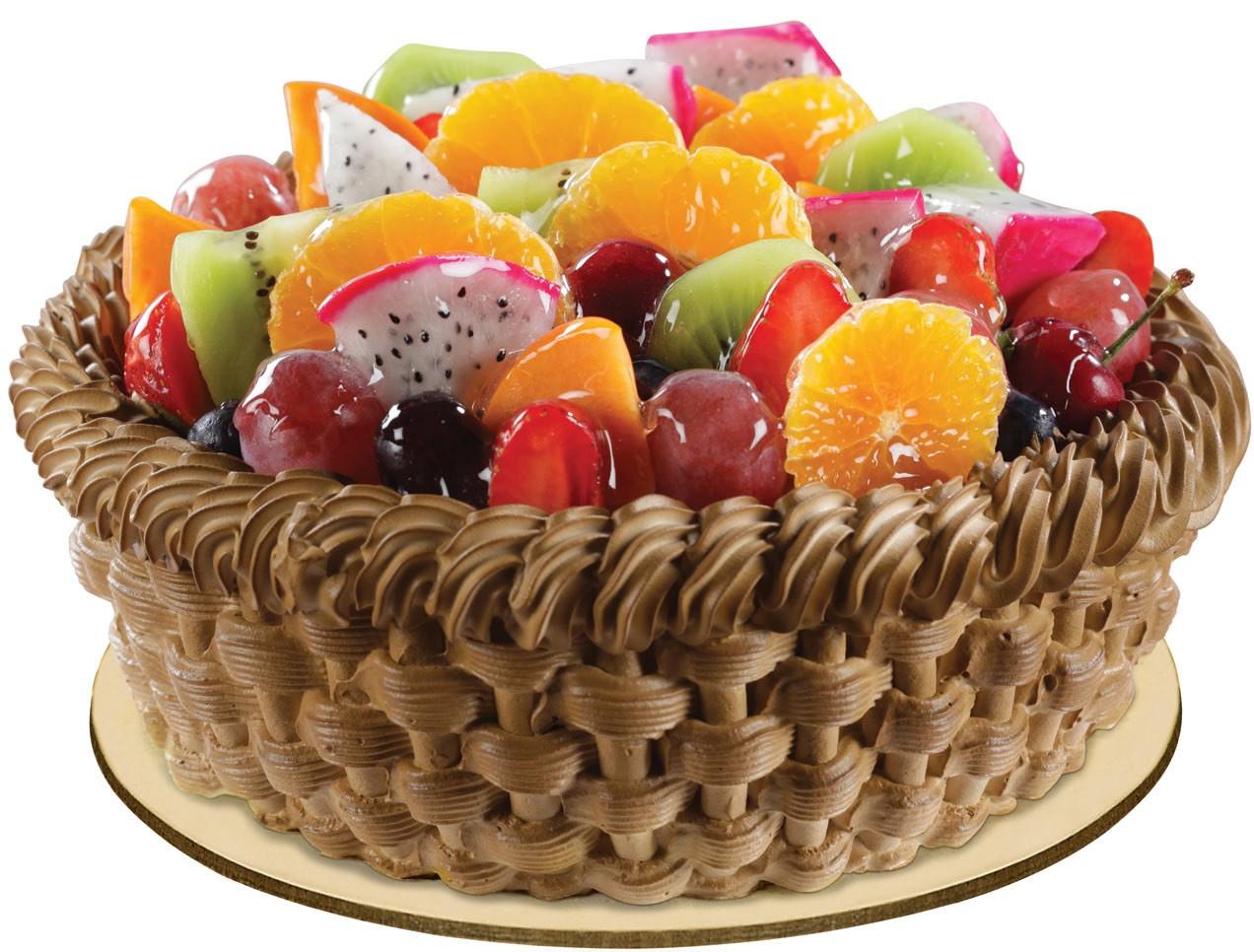Stupendous Buy Fondant Fruit Cake Online At Best Price Od Funny Birthday Cards Online Sheoxdamsfinfo