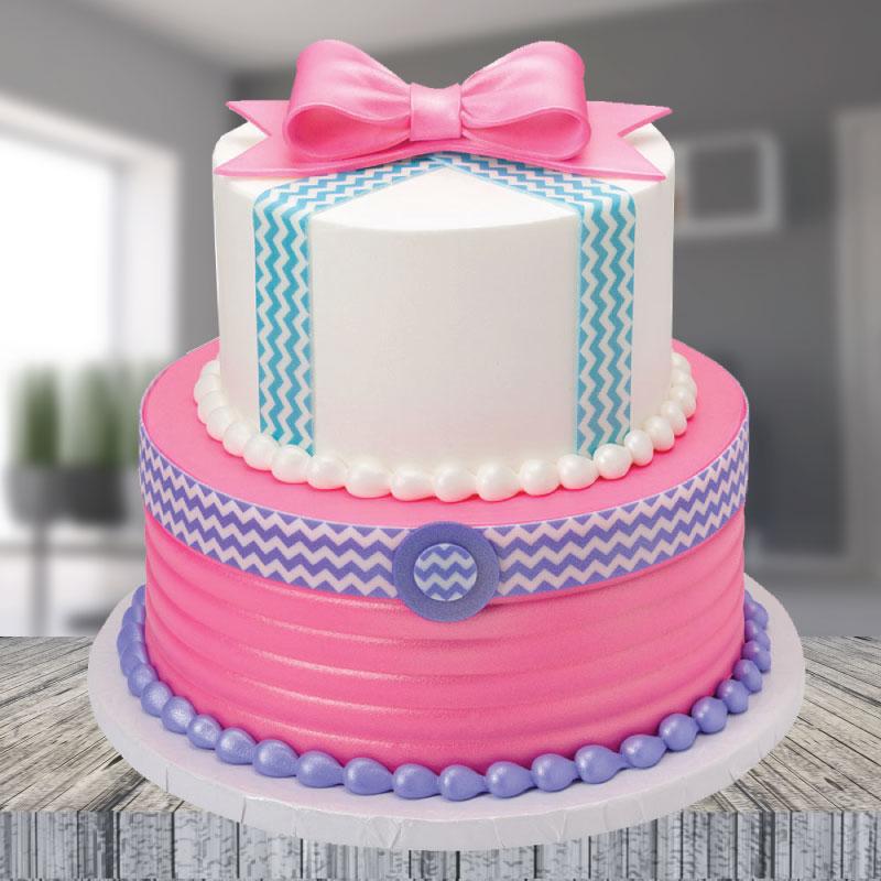 Pleasant Buy 2 Tier Cakes Online At Best Price Od Funny Birthday Cards Online Benoljebrpdamsfinfo