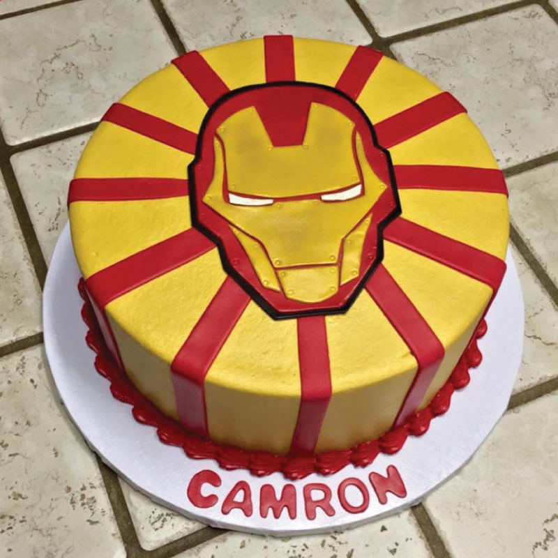 Tremendous Buy Iron Man Cake Online At Best Price Od Funny Birthday Cards Online Fluifree Goldxyz