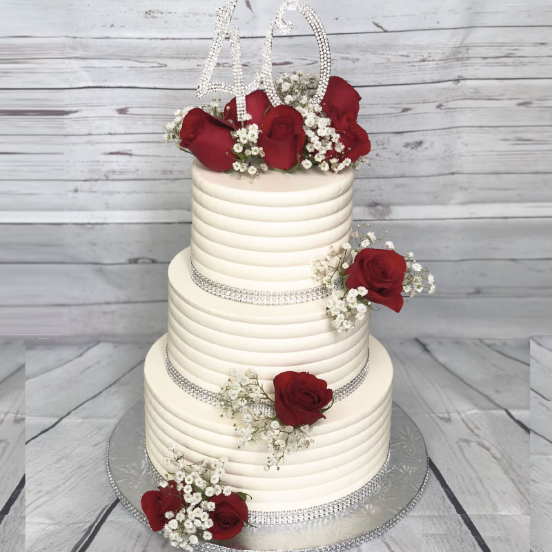 Buy The Anniversary Cake Online At Best Price Od