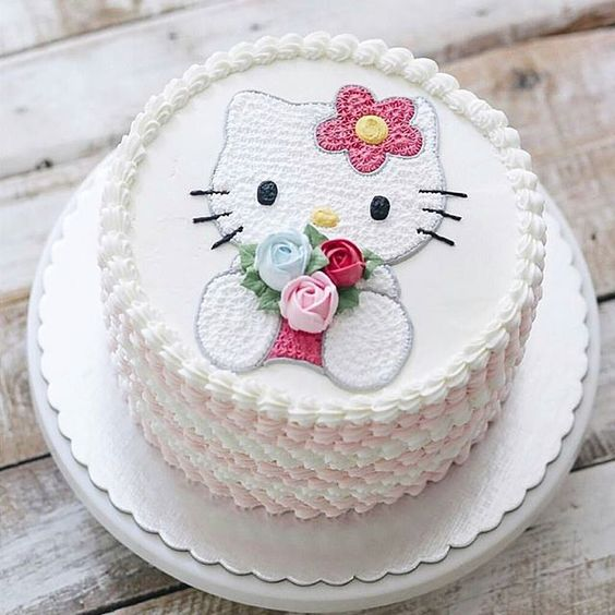 Phenomenal Buy Hello Kitty Birthday Cake Online At Best Price Od Personalised Birthday Cards Cominlily Jamesorg