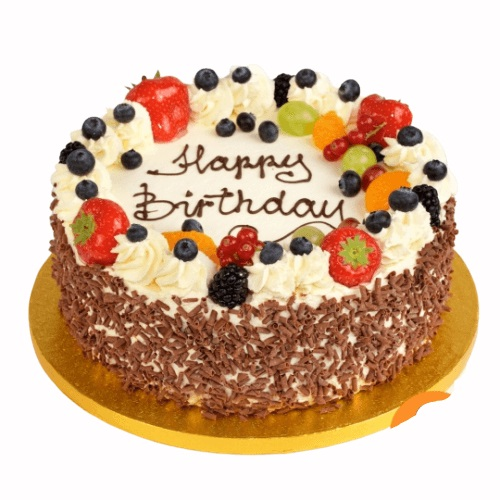 Wondrous Buy Black Forest Fruit Cake Online At Best Price Od Funny Birthday Cards Online Alyptdamsfinfo