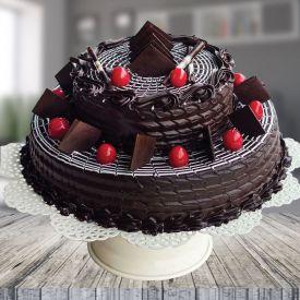 2 Tier Chocolate Truffle Cake