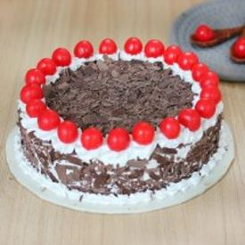 Chocolicious Black forest cake