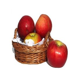Apple with Basket