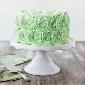 Rosy Designer Cake