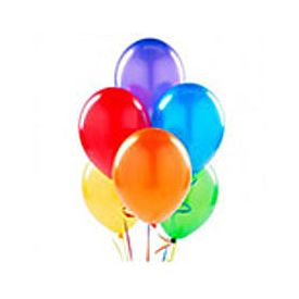 Multi Coloured Deflated Balloons set of 50