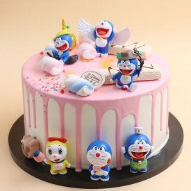 4 KG Doraemon Cake