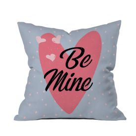 Be Mine Printed Cushion