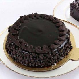 Crunchy Truffle Cake
