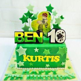 3 kg Ben 10 Fondant cake