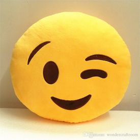 Smiley cushion for kids