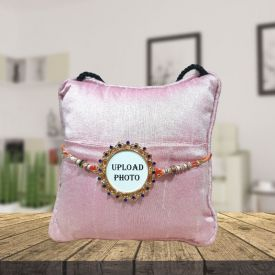 Personalized Rakhi With Pillow
