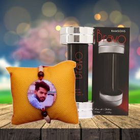 Personalized Rakhi with Perfume