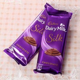 2 Cadbury Silk 60gms