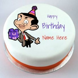 Mr. bean birthday cake