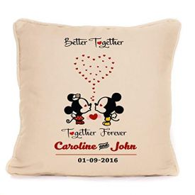 Mickey & Minnie Mouse Cushion