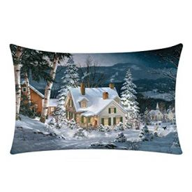 Christmas Landscape Cushion