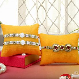 3 Set of Rakhis