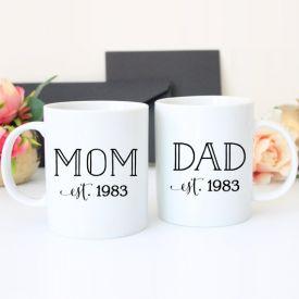 Printed Mug Set