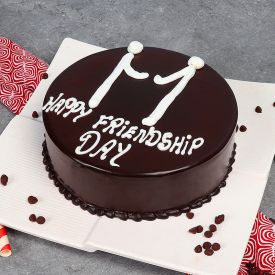 Friendshipday chocolate Cake