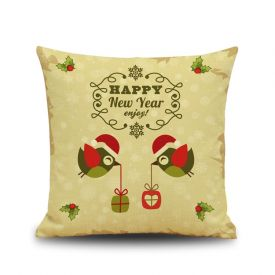 New year cushion