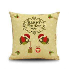New year cushion