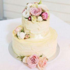 Floral Fondant Cake