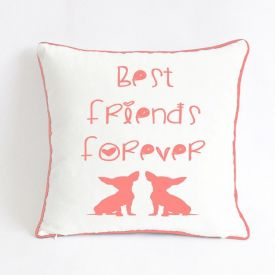 Best Friend Forever Quotes Cushion