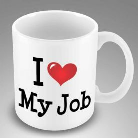 I Love My Jobs Mugs