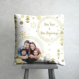 New Year Cushion Cover