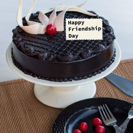 Friendship day Chocolate truffle Cake