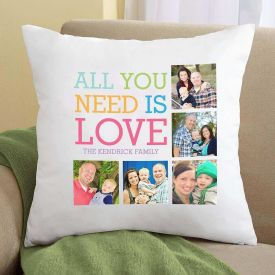 personalized cushion with photo