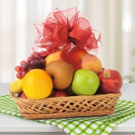 Mixed Fruit with Basket