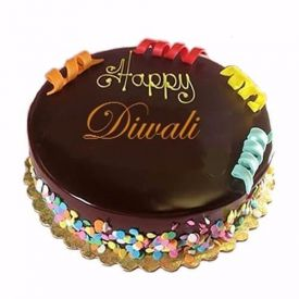 Diwali Chocolate Cake