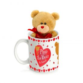 Mug (Customize) with small Teddy