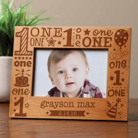 Birthday Wooden Photo Frame