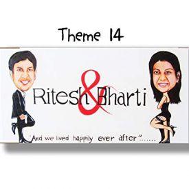 Caricature Nameplate Theme 14