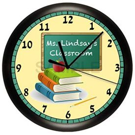 Personalized Clock for Teacher