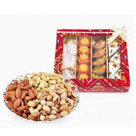 Mixed Dry Fruits and Mixed sweets
