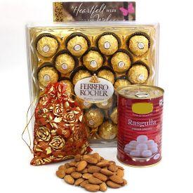 Ferrero Rocher With Dry Fruits Combo