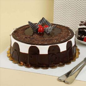 Luxury Chocolate Truffle cake