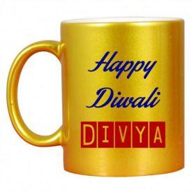 Golden Diwali Printed Mug