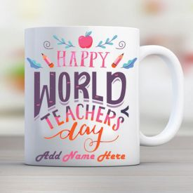 Happy Teacher Day Mug