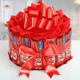 Bouquet Of Kit-Kat Chocolates