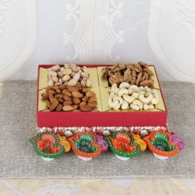 Mixed Dry fruits With Diya