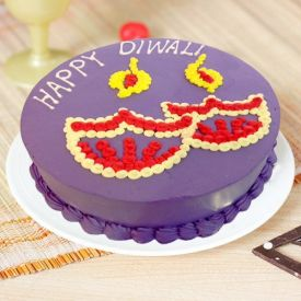Happy Diwali Them Cake