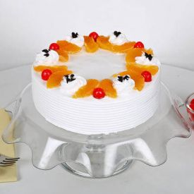Fruits Vanilla Cake