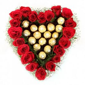 Special Surprise of ferrero rocher & Rose